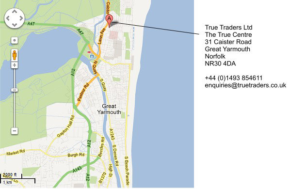 True Traders Ltd, The True Centre, Great Yarmouth